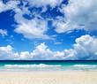 canvas print picture - tropical sea