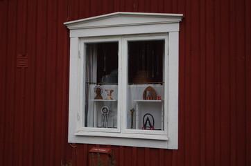 Fenêtre de maison Suèdoise