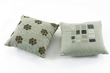 Two modern pillow