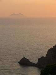 paesaggio marino al tramonto