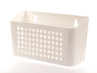 Plastic basket on