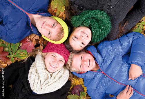 canvas print picture Herbstlich