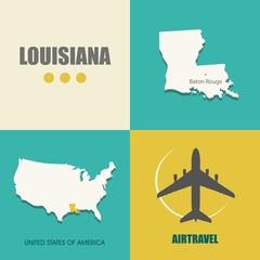 Louisiana flat