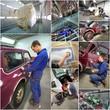 atelier de carrosserie - montage