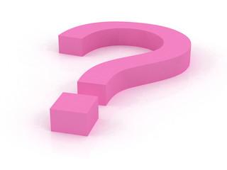 Big Question Pink