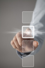 Touch screen concept
