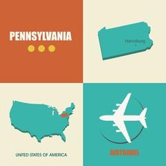 Pennsylvania flat