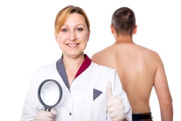 Ärztin fordert zur Vorsorge Untersuchung auf