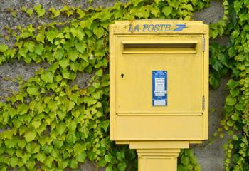 Postkasten in Frankreich
