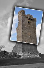 zerfallener Festungsturm