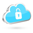 Cloud Safety Blue/Silver