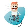 fahrrad rad fahren business mann