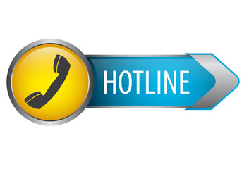 Hotline - Pfeilbutton
