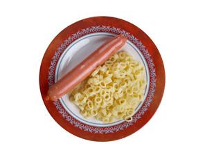 Ditalini with sausage