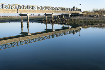 Il riflesso del ponte