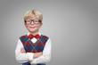 Kind / Schulkind / Junge mit Brille