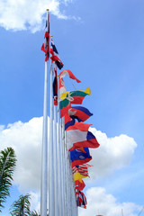 Flag of ASEAN.