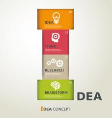 template modern info-graphic design, vector, template, idea