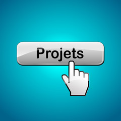 Vector projects web button