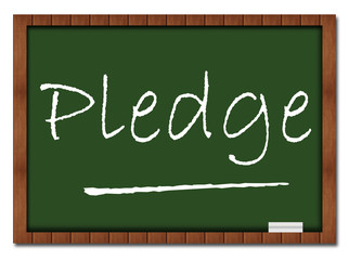 Pledge Classroom Board