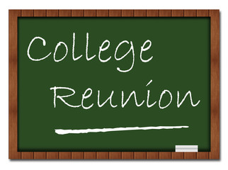 College Reunion Classroom Board