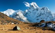 camping under Ama Dablam