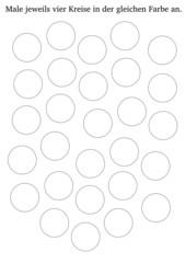 Arbeitsblatt: Zählen