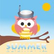buho woman summer