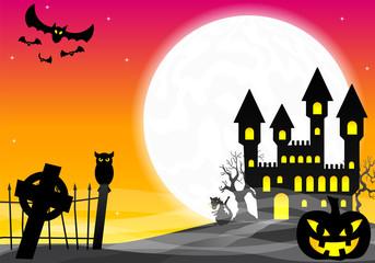 Halloween Spukschloss