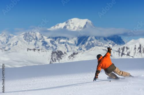 Papiers peints Glisse hiver sport d'hiver