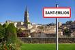 Village de saint-émilion, Gironde, Aquitaine