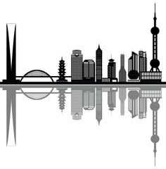 shanghai city skyline