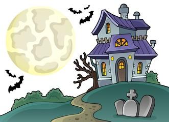 Haunted house theme image 1