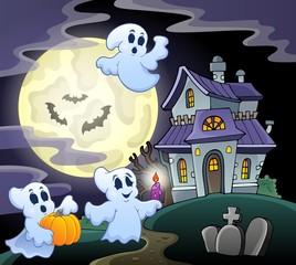 Haunted house theme image 3