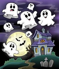 Haunted house theme image 5