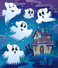 Haunted house theme image 7