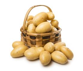 Cesto con patatas