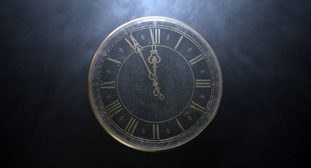 Macro Antique Watch Midnight
