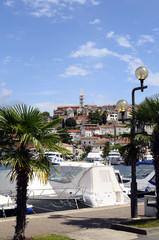 Village and marina of Vsar, Croatia