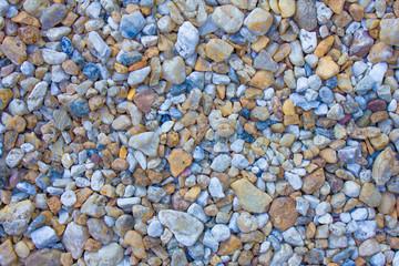 Colors of pebble
