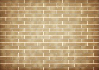 Brick brown wall background