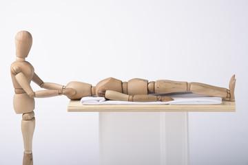 Schläfenmassage