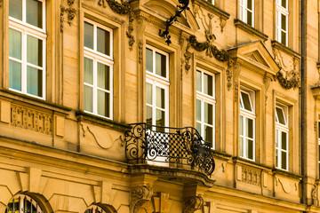 Alte Fassade im Barock Stil
