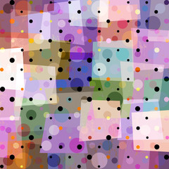 polka dots pattern background, vector illustration