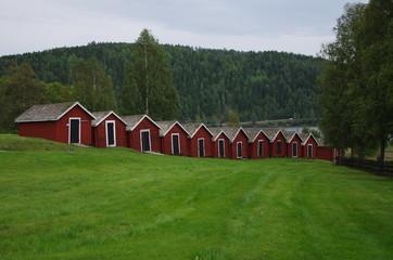 Maisons paroissiales en Suède