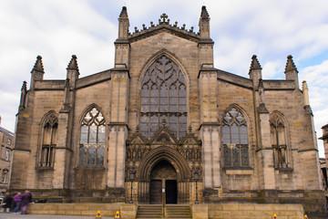 St Giles' Cathedral in Edinburgh, Scotland