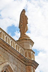 il villaggio di Rocamadour l'Abbazia di Notre Dame - Francia