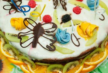 Delicious sweet cake