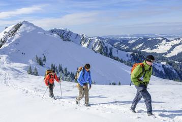 Winterwandern in den Allgäuer Alpen