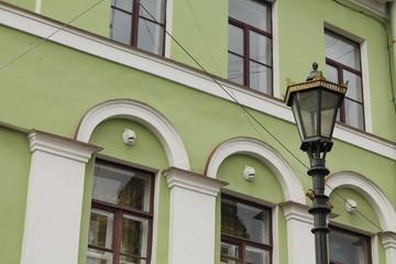 городской уличный фонарь